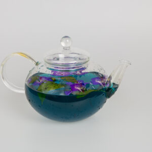 Tekanna i glas 1,2 liter